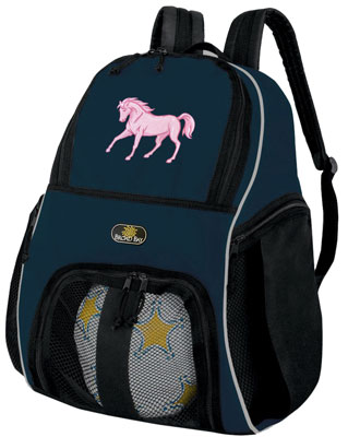 Horse Soccer Backpack by Broad Bay