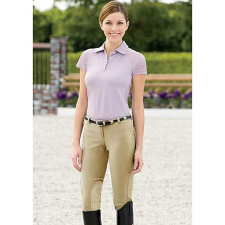 tuffrider low rise pull on ladies breeches