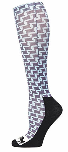 Geo Padded socks